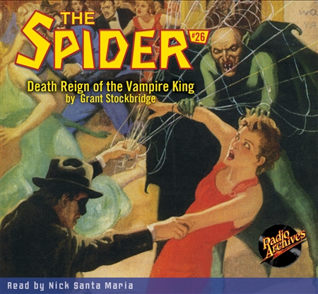 The Spider Audiobook - # 26 Death Reign of the Vampire King