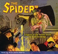 The Spider Audiobook - # 27 Emperor of the Yellow Death