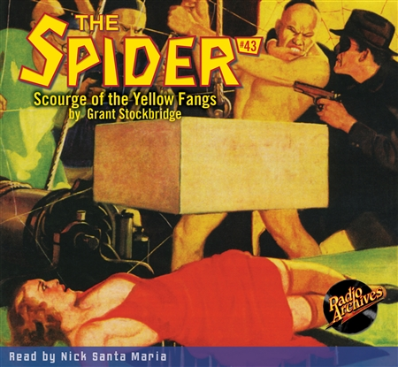 The Spider Audiobook - # 43 Scourge of the Yellow Fangs