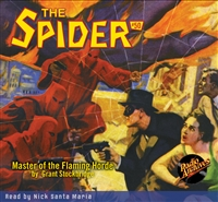 The Spider Audiobook - # 50 Master of the Flaming Horde