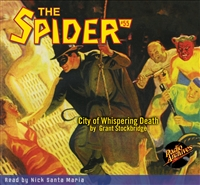 The Spider Audiobook - # 55 City of Whispering Death