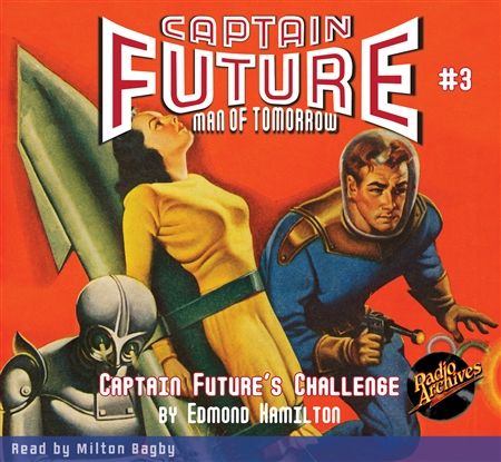 Captain Future Audiobook # 3 Captain Future's Challenge