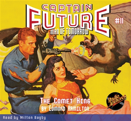 Captain Future Audiobook #11 The Comet Kings