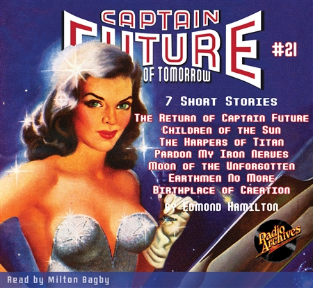 Captain Future Audiobook #21 7 Short Stories