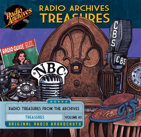 Radio Archives Treasures, Volume 40 - 20 hours