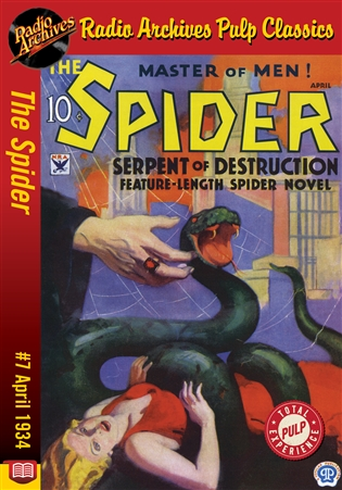 The Spider eBook #7 Serpent of Destruction
