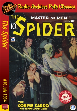 The Spider eBook #10 The Corpse Cargo