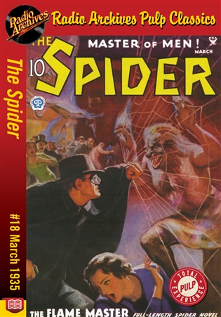 The Spider eBook #18 The Flame Master