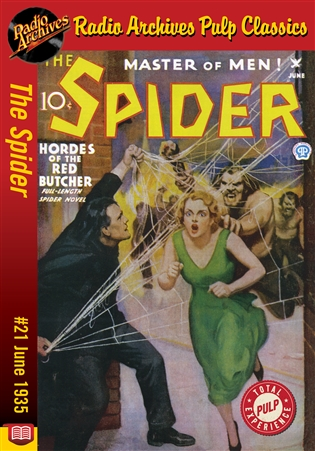 The Spider eBook #21 Hordes of the Red Butcher