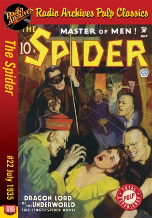 The Spider eBook #22 Dragon Lord of the Underworld