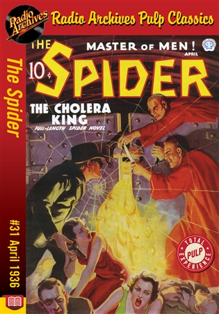 The Spider eBook #31 The Cholera King