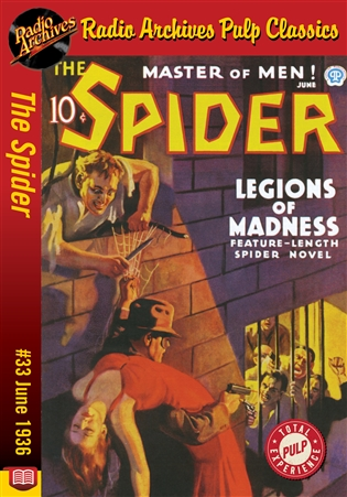 The Spider eBook #33 Legions of Madness
