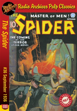 The Spider eBook #36 The Coming of the Terror