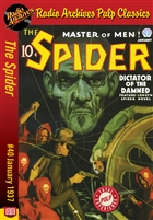 The Spider eBook #40 Dictator of the Damned