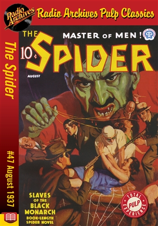 The Spider eBook #47 Slaves of the Black Monarch