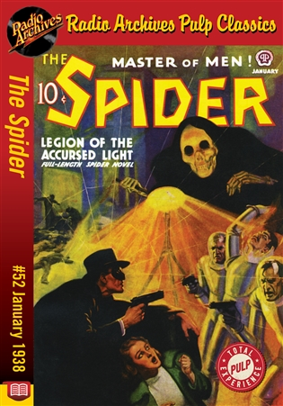 The Spider eBook #52 Legions of the Accursed Light