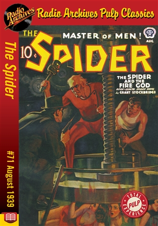 The Spider eBook #71 The Spider and the Fire God