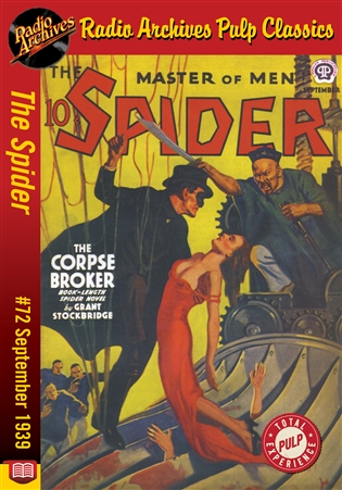 The Spider eBook #72 The Corpse Broker