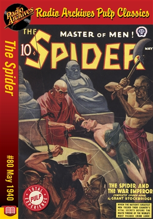 The Spider eBook #80 The Spider and the War Emperor