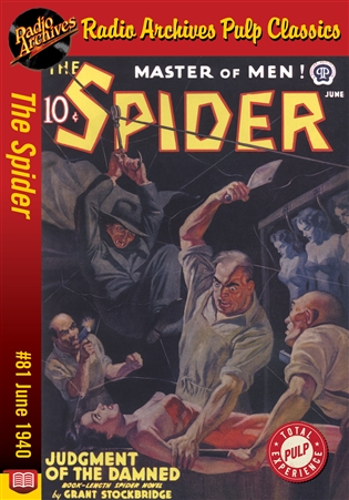 The Spider eBook #81 Judgment of the Damned