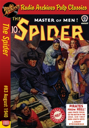 The Spider eBook #83 Pirates from Hell