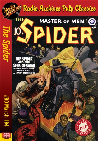 The Spider eBook #90 The Spider and the Sons of Satan