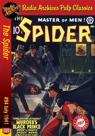 Spider eBook #094 Murder's Black Prince
