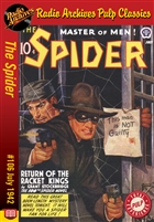 The Spider eBook #106 Return of the Racket Kings