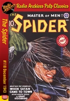The Spider eBook #118 When Satan Came to Town