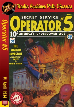 Operator #5 eBook #1 The Masked Invasion