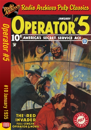 Operator #5 eBook #10 The Red Invader