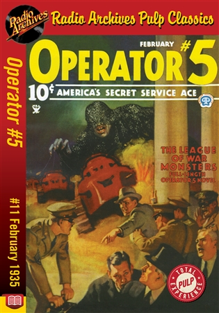 Operator #5 eBook #11 The League of War-Monsters