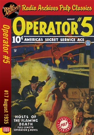 Operator #5 eBook #17 Hosts of the Flaming Death