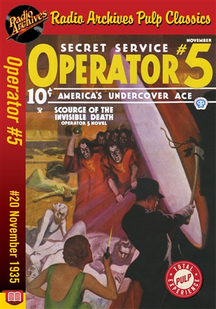 Operator #5 eBook #20 Scourge of the Invisible Death