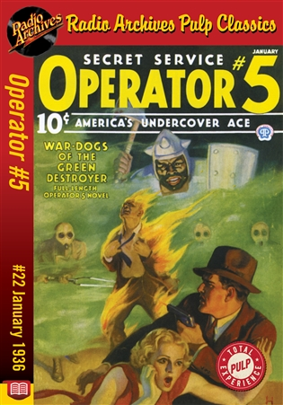 Operator #5 eBook #22 War-Dogs of the Green Destroyer