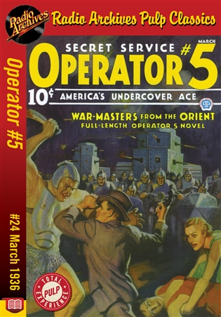 Operator #5 eBook #24 War Masters from the Orient