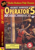 Operator #5 eBook #31 Siege of the Thousand Patriots