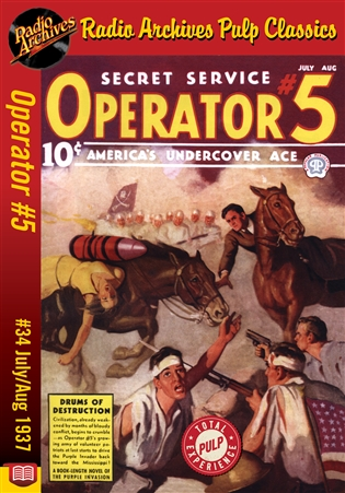 Operator #5 eBook #34 July-August 1937 Drums of Destruction