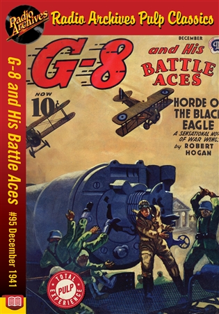 G-8 and His Battle Aces eBook #95 December 1941 Horde of the Black Eagle