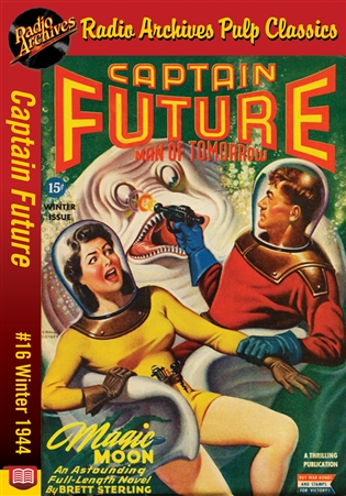 Captain Future eBook #16 Magic Moon
