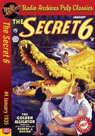 Secret 6 eBook #4 The Golden Alligator