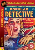 Dime Mystery Magazine eBook From What Black Pit by Richard C. Huzarski