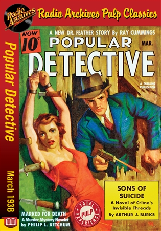 Dime Mystery Magazine eBook Hells Dancing Master by Dave Barnes