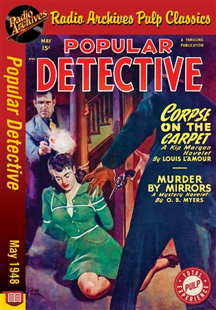 Dime Mystery Magazine eBook The Man Who Was Dead by John Dixon Carr