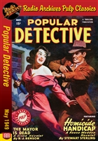Dime Mystery Magazine eBook They Dance And Die! by James Duncan