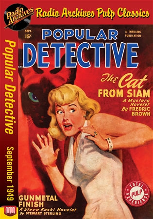 Dime Mystery Magazine eBook Vampires Can't Die by E. G. Morris