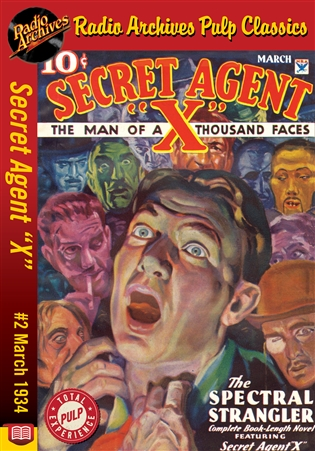 "Secret Agent ""X"" eBook #2 The Spectral Strangler"