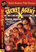 "Secret Agent ""X"" eBook #10 The Murder Monster"