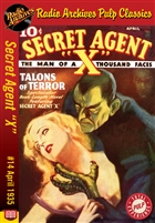 "Secret Agent ""X"" eBook #14 Talons Of Terror"