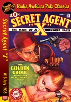 "Secret Agent ""X"" eBook #16 The Golden Ghoul"